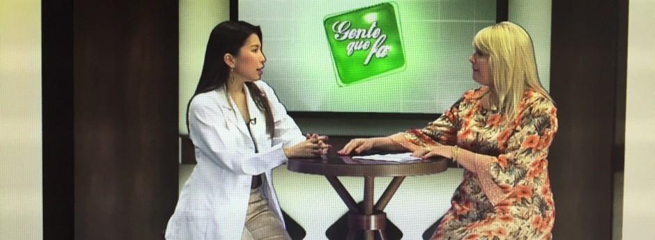 Entrevista sobre Melasma – Programa Gente que Faz
